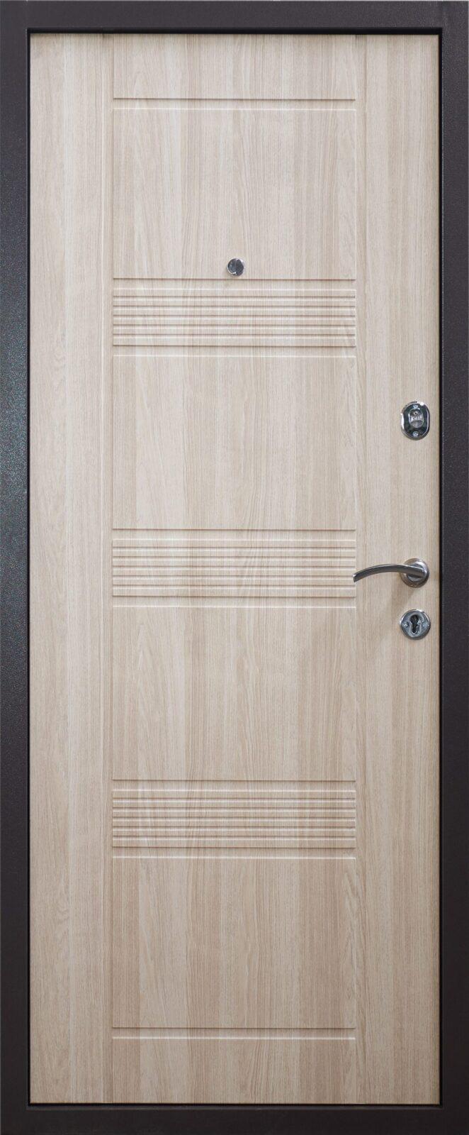 дверь ДМ3 светлый беленый дуб