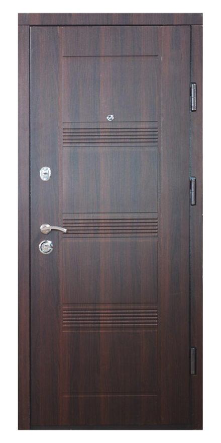 дверь ДМ 3 темный орех